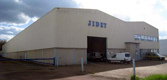 JIDET's plants in Amilly - France