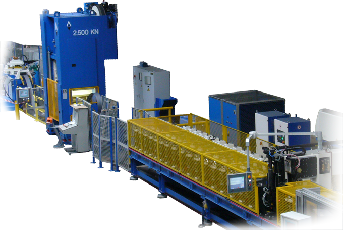 Heavy profiles production  lines